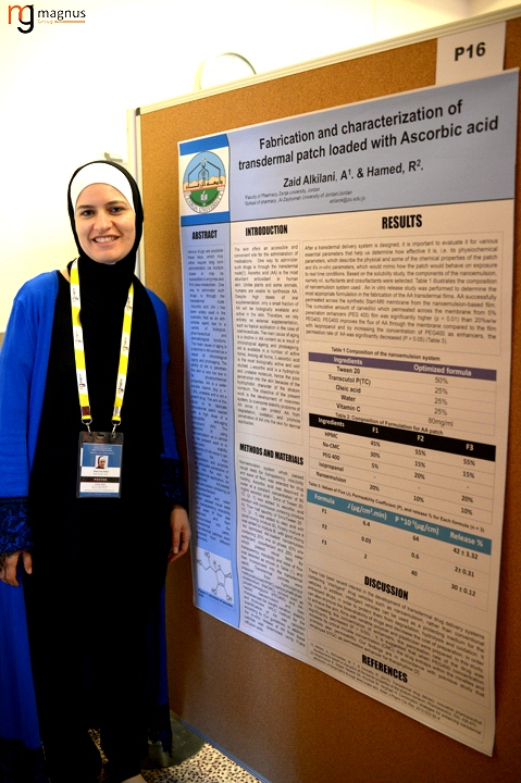 Leading speakers for Drug Delivery Conferences- Ahlam Zaid Alkilani