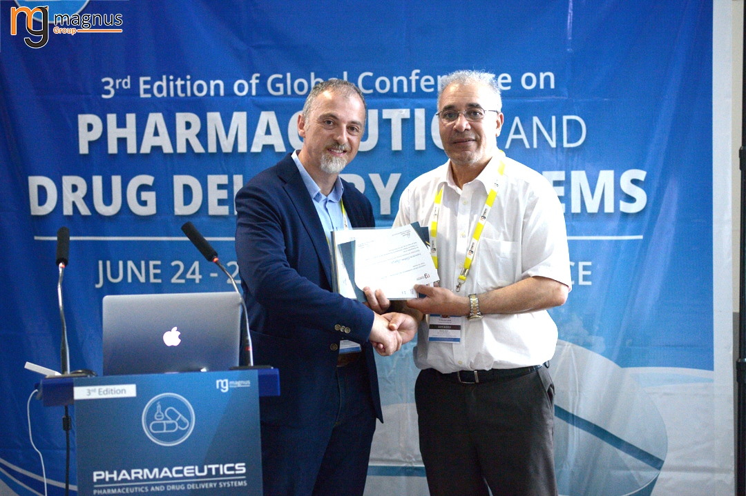 Potential speakers for Drug Delivery Conferences