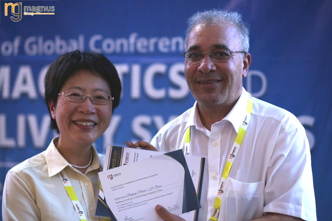 Potential speakers for Drug Delivery Conferences - Benfang (Bennie) H. Ruan