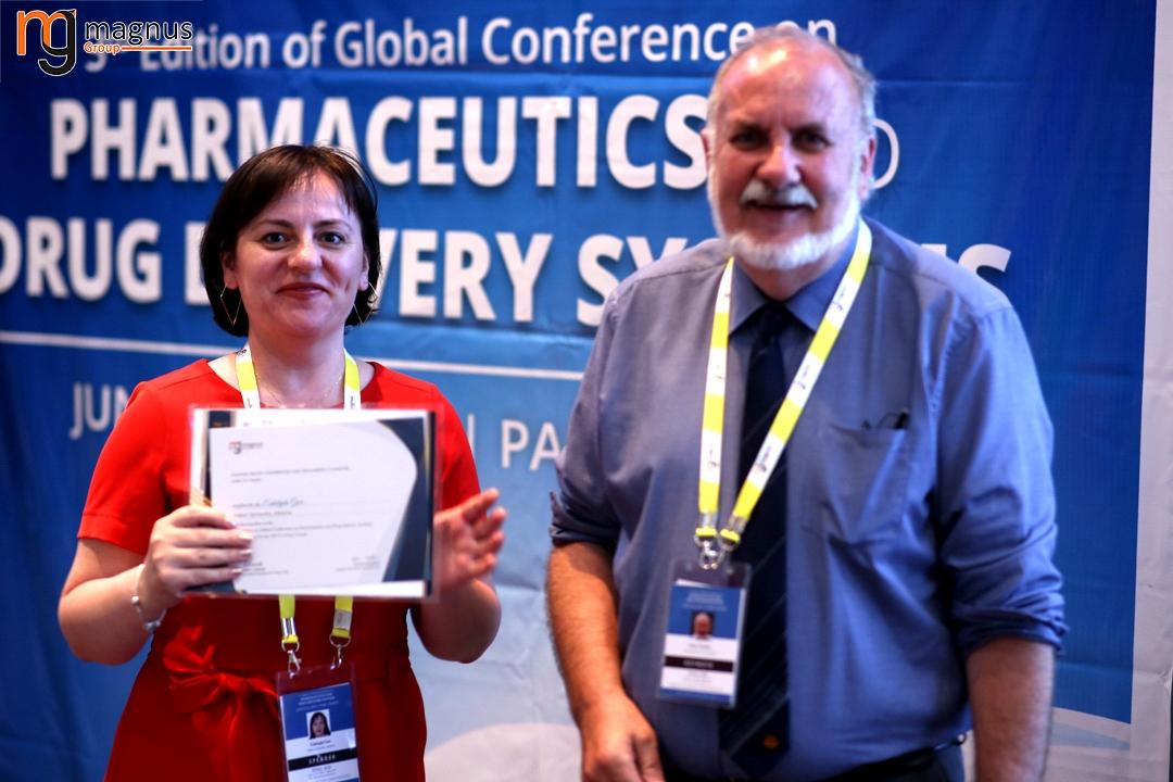 Leading speakers for Drug Delivery Conferences - Enkelejda Goci