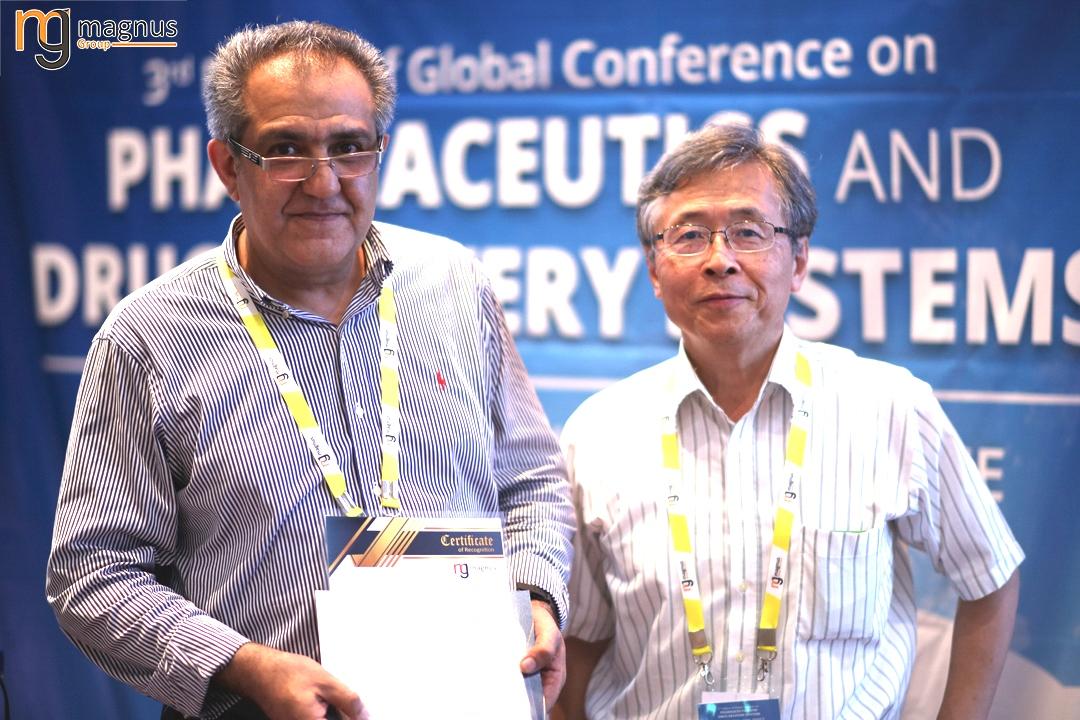 Potential speakers for Drug Delivery Conferences - Farzin Roohvand