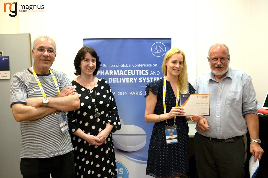 Potential speakers for Drug Delivery Conferences - Géraldine Mayeux