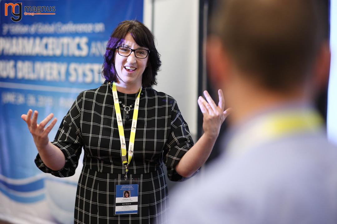 Potential speakers for Drug Delivery Conferences - Georgina Kate Such