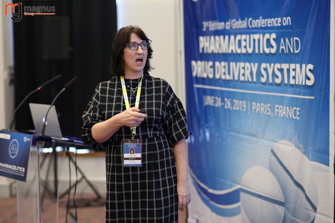 Speaker for Drug Delivery Conferences-Georgina Kate Such
