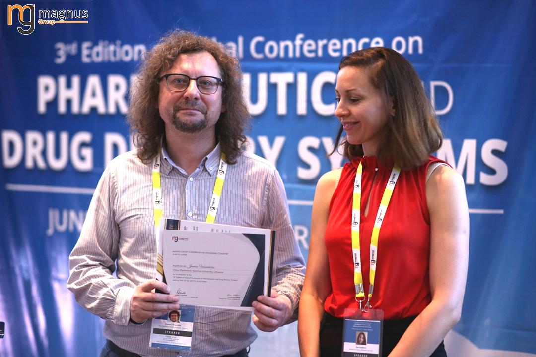 Speaker for Drug Delivery Conferences -  Jaunius Urbonavi?ius