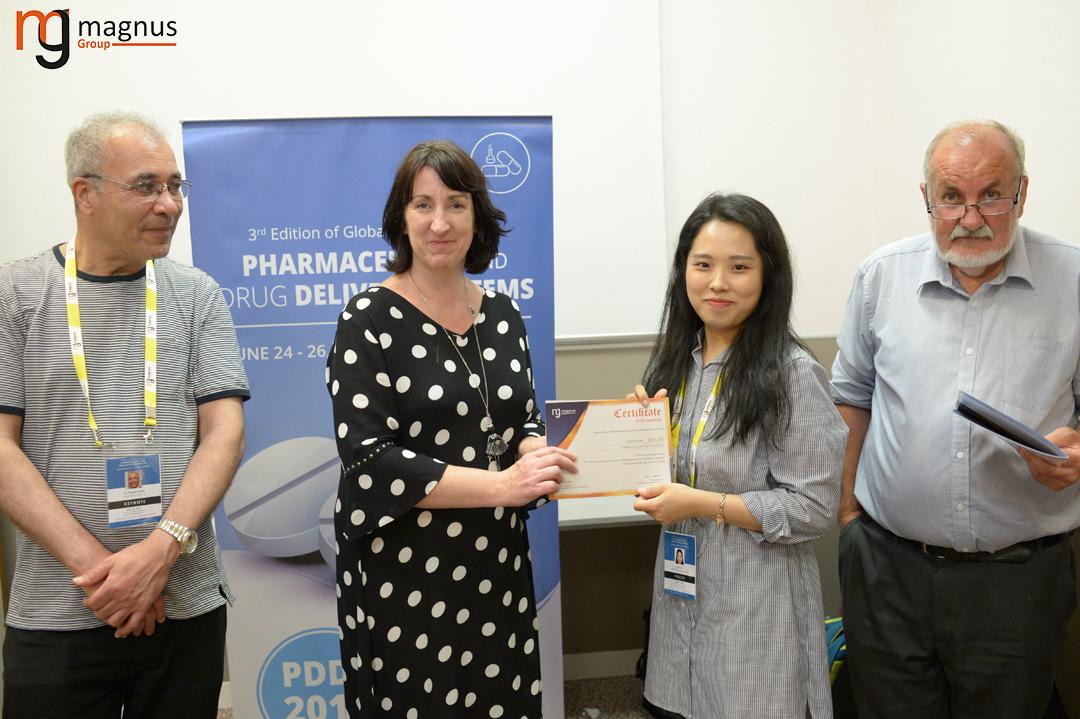Potential speakers for Drug Delivery Conferences - Jiyon Lee