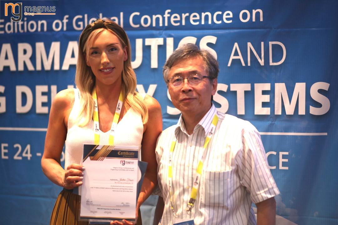 Potential speakers for Drug Delivery Conferences - Justine Fraser