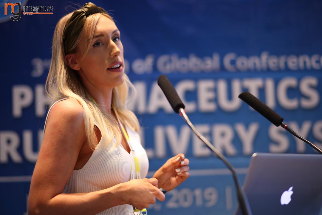 Leading speakers for Drug Delivery Conferences - Justine Fraser