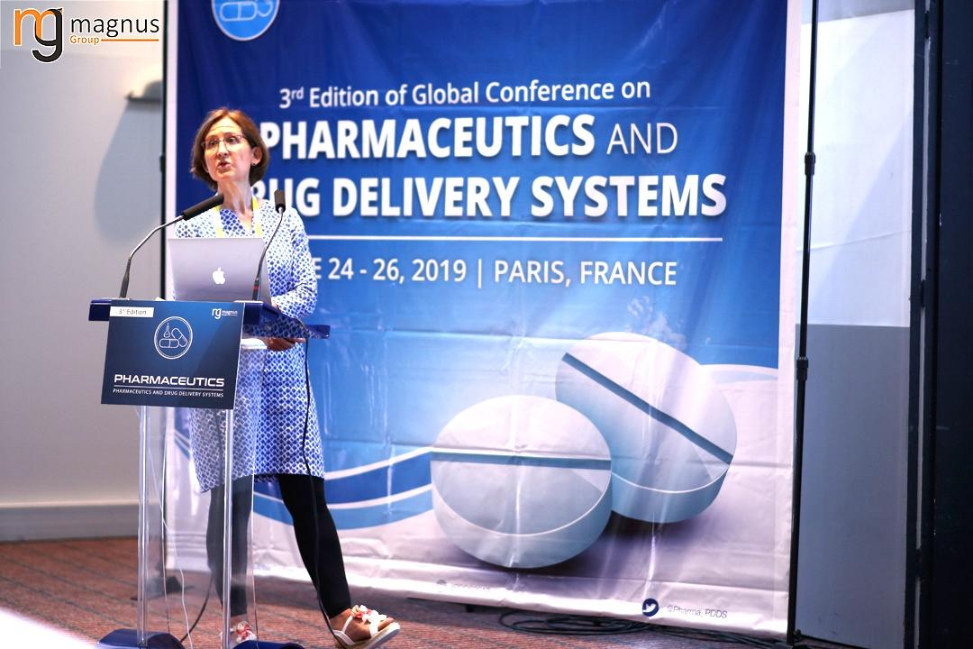 Speaker for Drug Delivery Conferences - Angelita Rebollo