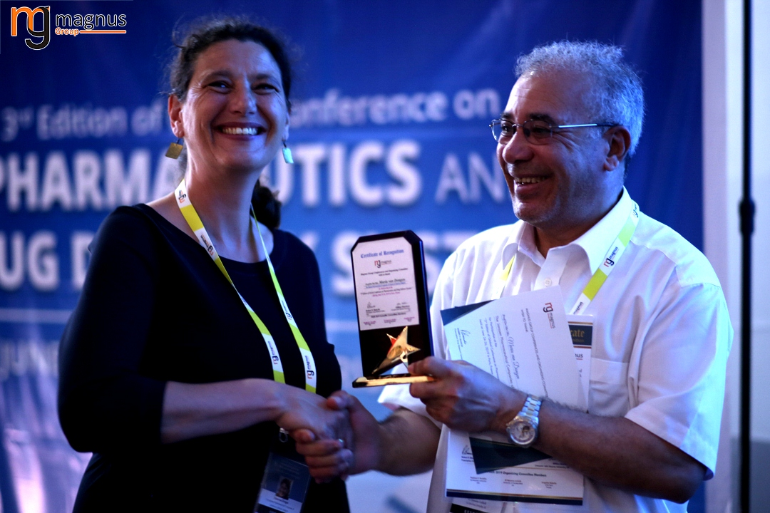 Leading speakers for Drug Delivery Conferences - Maria van Dongen