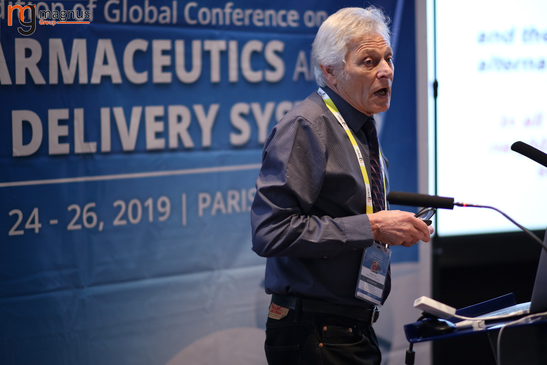 Leading speakers for Drug Delivery Conferences-Mino R. Caira