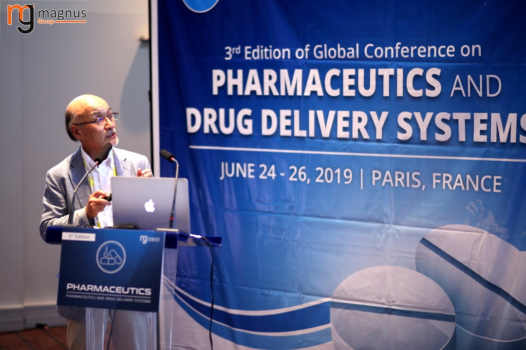 Leading speakers for Drug Delivery Conferences - Shunichiro Taniguchi
