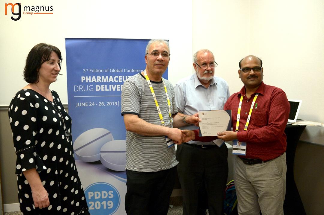 Speaker for Drug Delivery Conferences - Subrat Kumar Bhattamisra