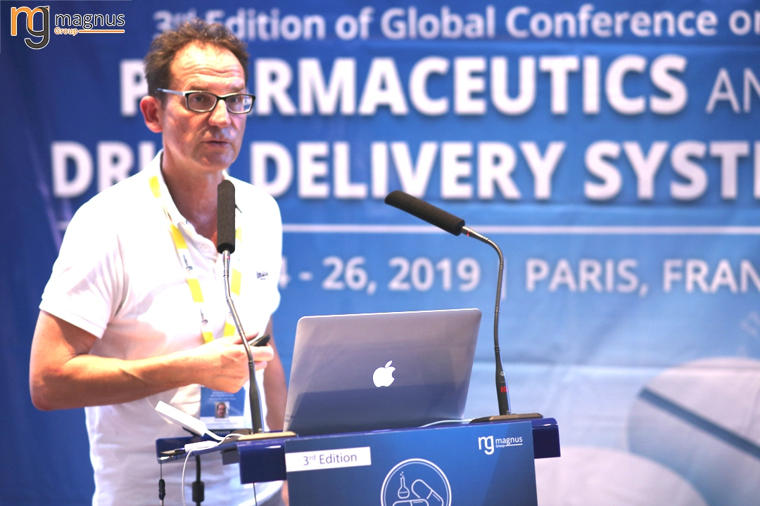 Speaker for Drug Delivery Conferences 2020 - Toussaint Bertrand