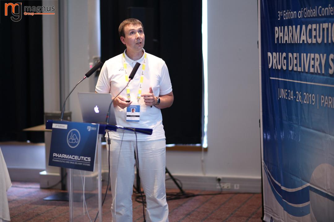 Speaker for Drug Delivery Conferences - Vladimir A. D'yakonov