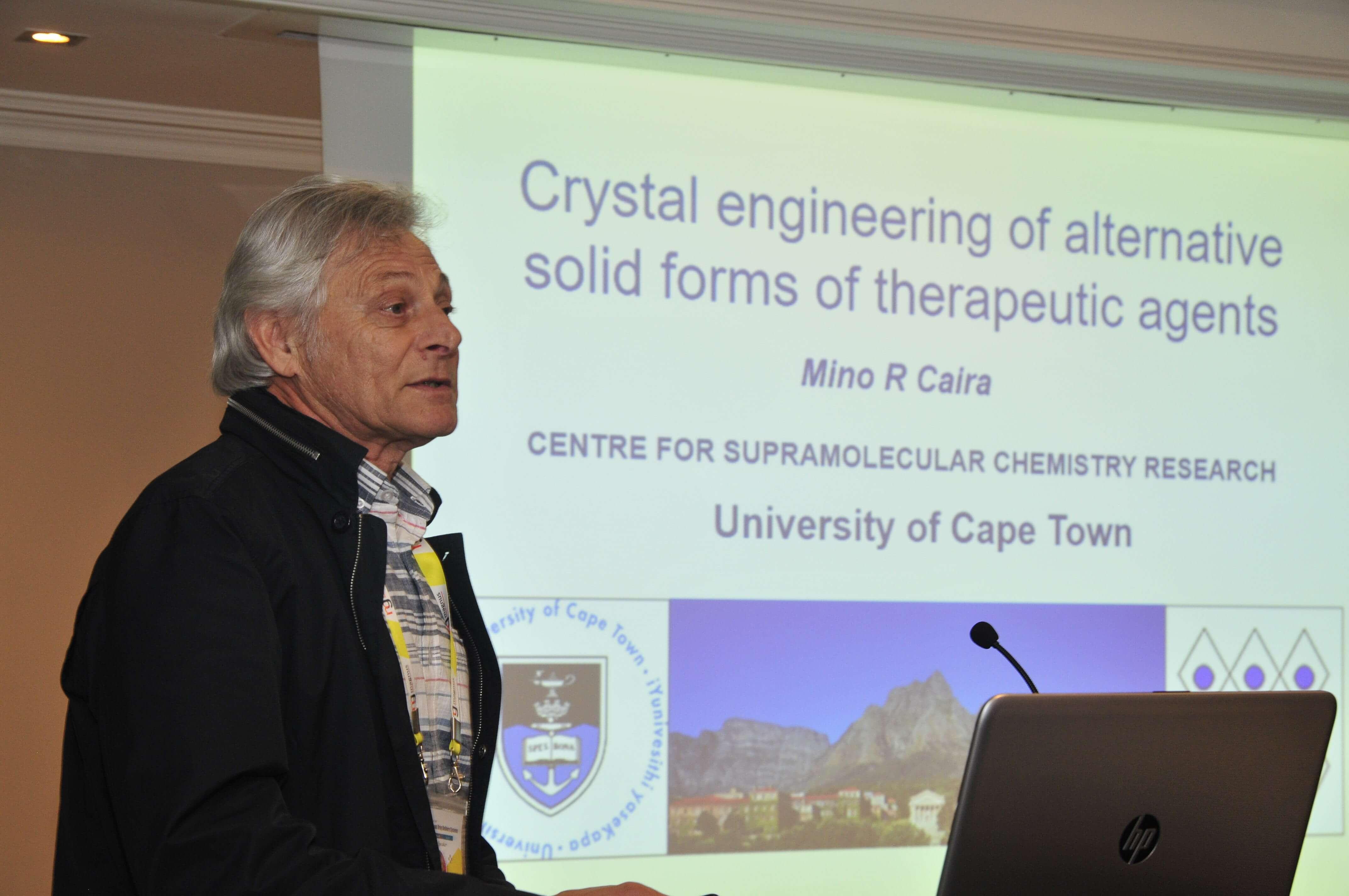 Potential speakers for Pharma 2020-Mino R. Caira
